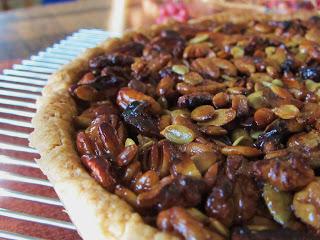 Vegan Caramel Nut Tart